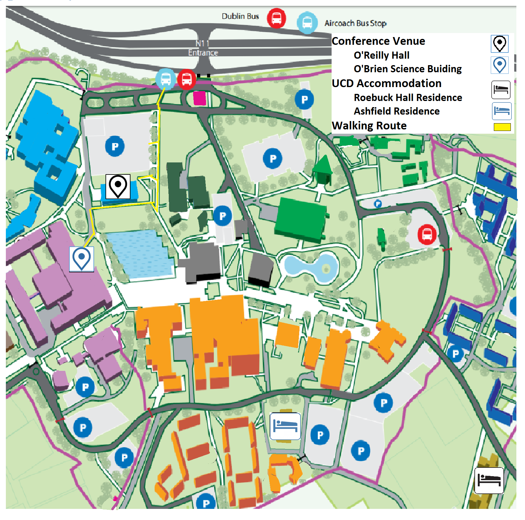 map of ucd campus Isag 2017 map of ucd campus